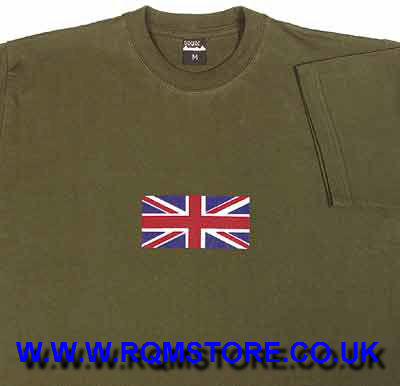 Union Jack Crop Top T Shirt Small Ts47s