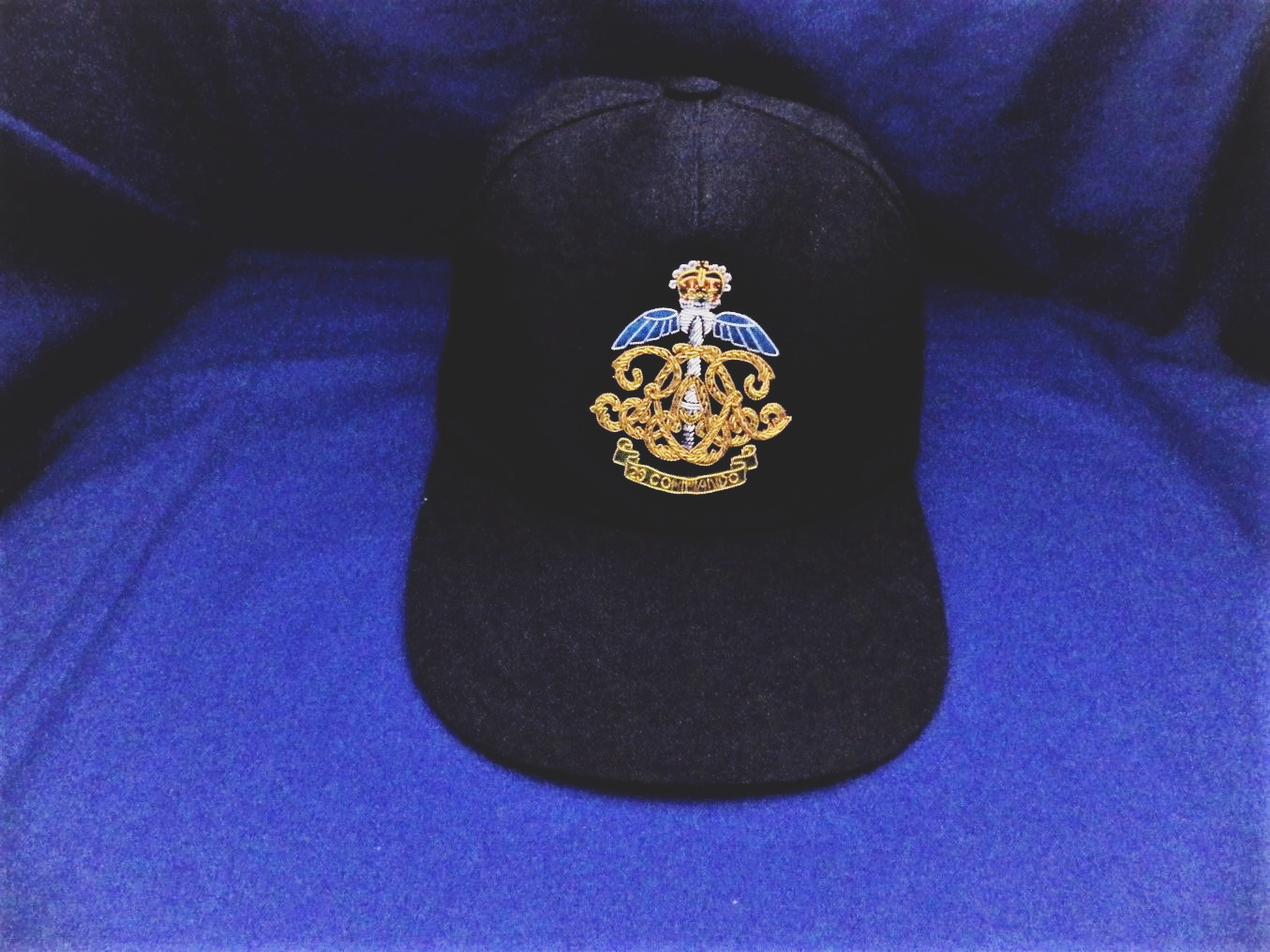 cce2b99eb9a04 Home > Military Collectables > Baseball Caps ( Bullion Wire Embroidered  Badges )