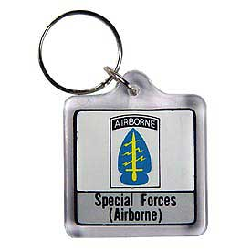 SPECIAL FORCES AIRBORNE KEY RING